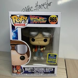 Funko Pop Marty Checking Watch SDCC